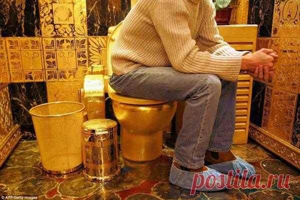 Золотой унитаз: http://s30087890855.mirtesen.ru/blog/43031542666