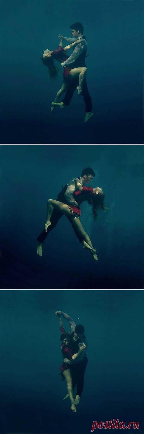 Танго под водой: больше страсти