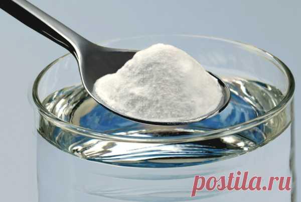 Пищевая сода — панацея от многих бед. — Всегда в форме!