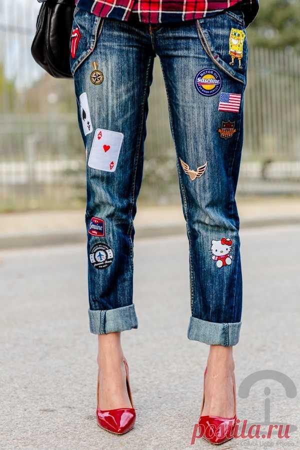 джинсы своими руками шитье
