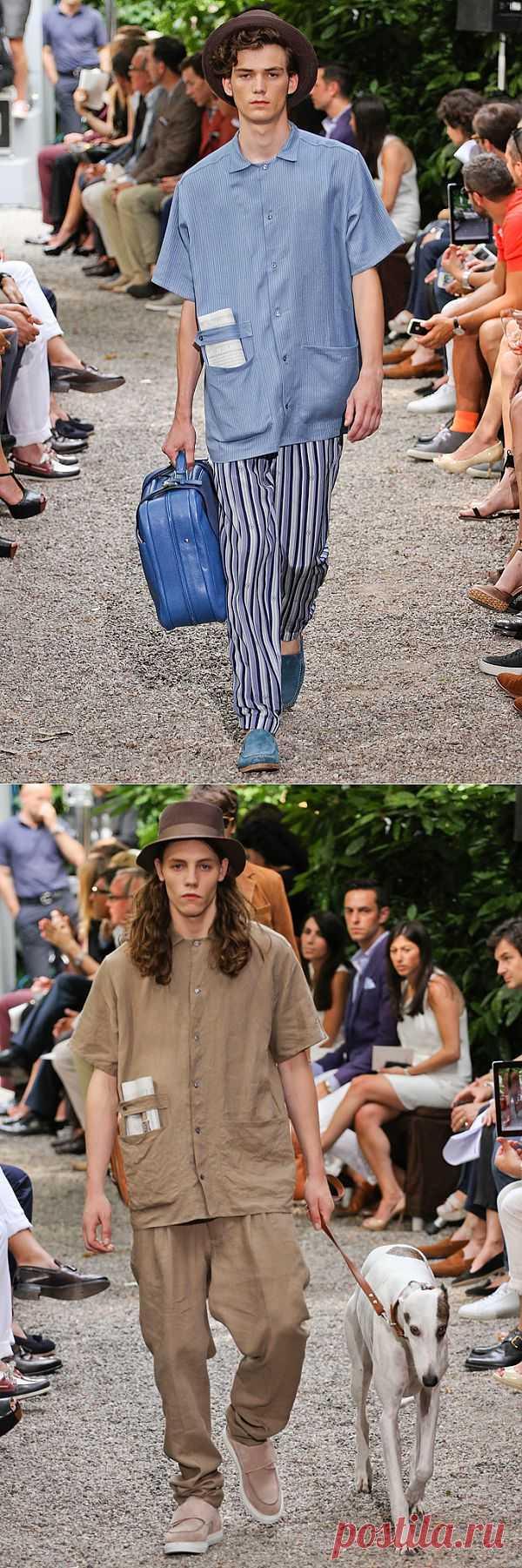 Пижамный шик Trussardi S/S 2013 / Детали / Модный сайт о стильной переделке одежды и интерьера
