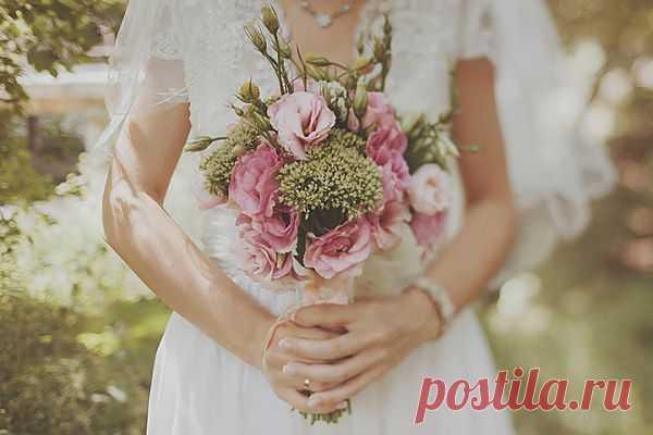 Времена года в цветах букета невесты - WeddyWood