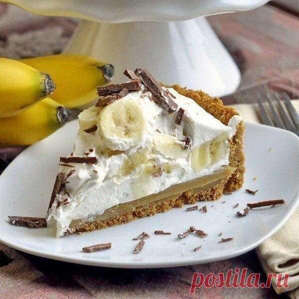 Пирог - Баноффи.