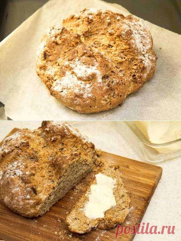 Печем Ирландский содовый хлеб (Irish Soda Bread)