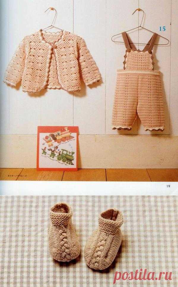 Костюмчик. Отличная схемка-выкройка штаников для ребенка.