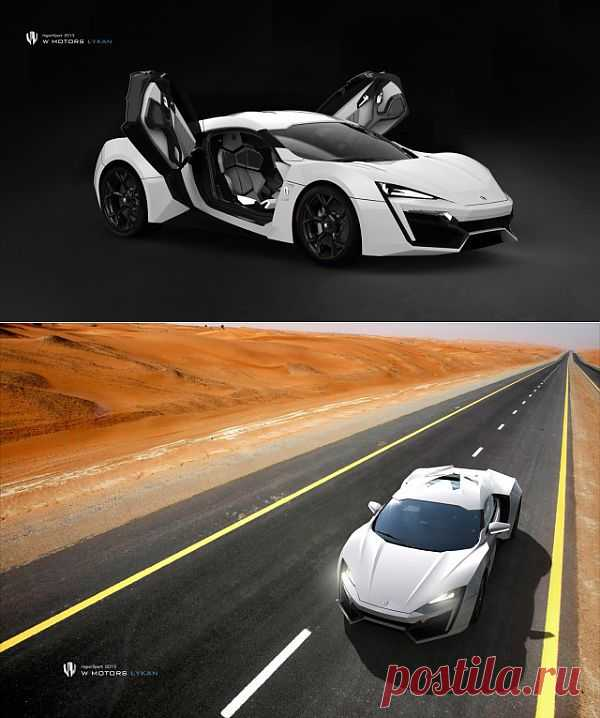 Гиперспорт за $3.4миллиона - Lykan Hypersport