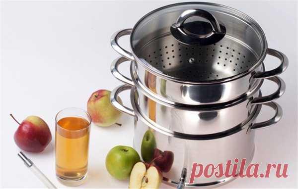 Как варить сок из яблок в соковарке на зиму | Краше Всех