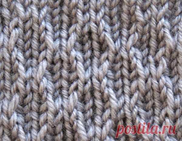 Текстурный узор (УЗОРЫ СПИЦАМИ) — Журнал Вдохновение Рукодельницы