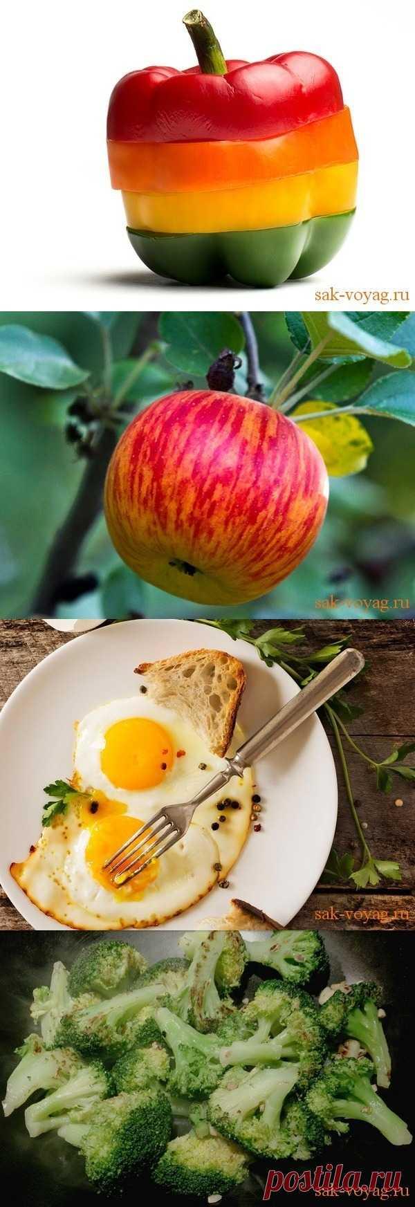 10 лучших продуктов для похудения (для получения информации нажмите 2 раза на картинку)