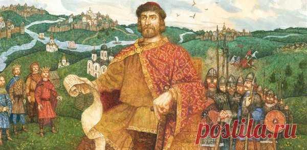 Великий и мудрый князь Ярослав..