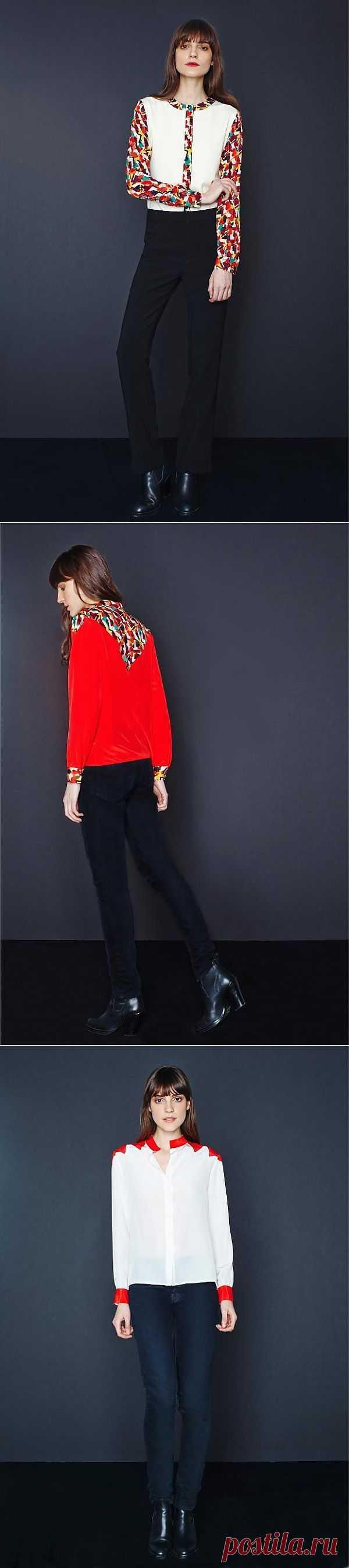 Три блузки из лукбука Tucker / Блузки / Модный сайт о стильной переделке одежды и интерьера