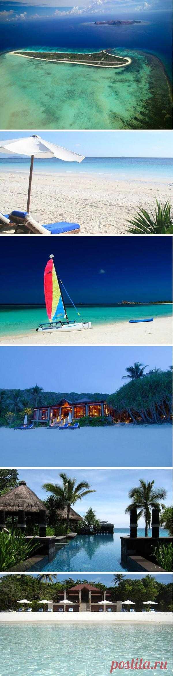 Одно из самых живописных и удивительных мест на Филиппинах - коралловый остров Памаликан
