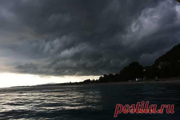 будет шторм .