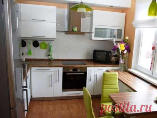 Дизайн маленькой кухни - подбор фото