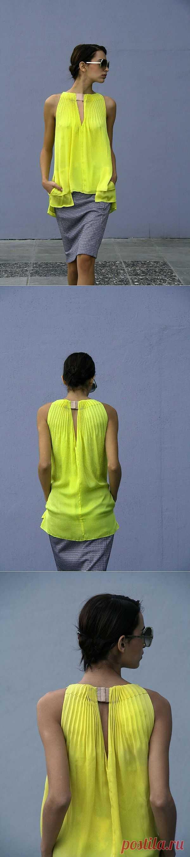 Идея переделки юбки в топ от DIANE VON FURSTENBERG / Вещь / Модный сайт о стильной переделке одежды и интерьера