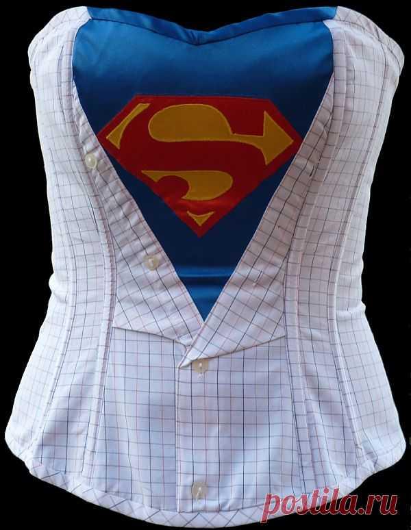 Корсет для супер крошки:-) / Креатив / Модный сайт о стильной переделке одежды и интерьера