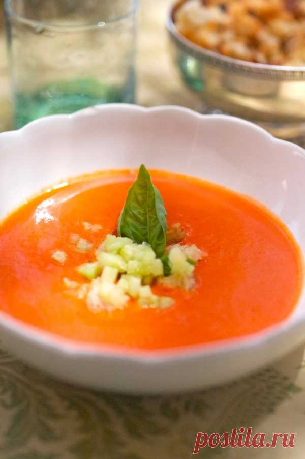 Суп 2 в 1: одновременно можно выдать за овощной и за фруктовый.