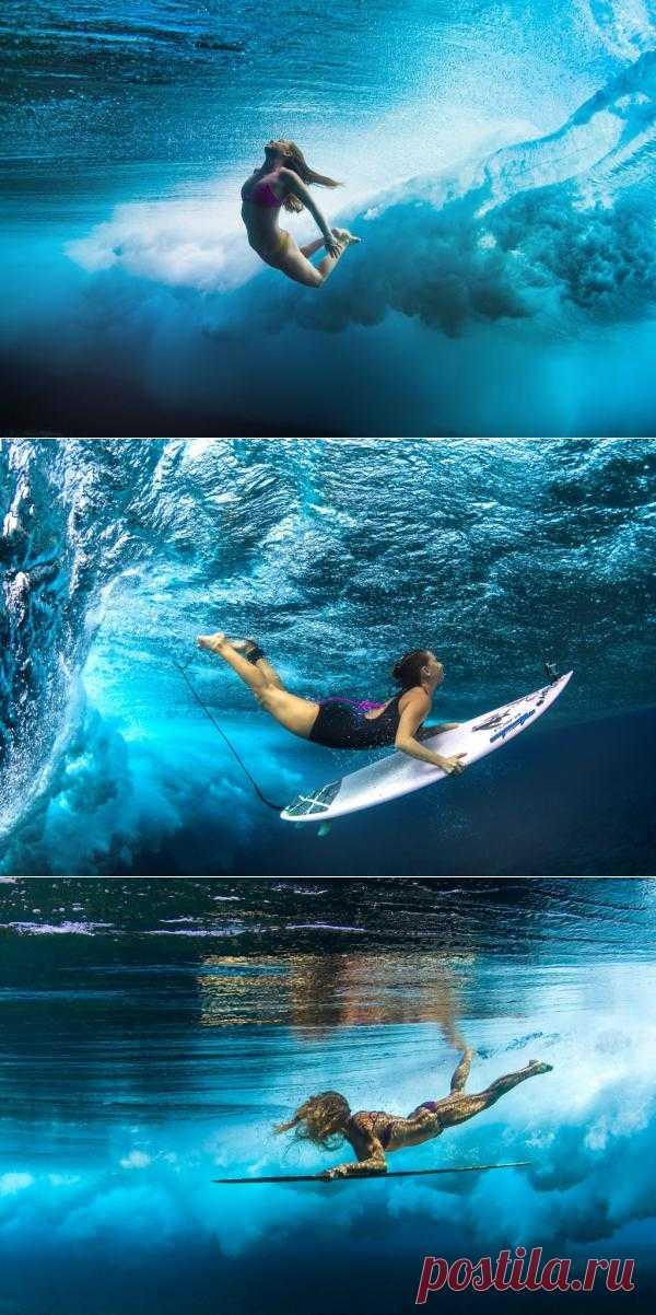 Гавайские серферы в фотографиях Sarah Lee