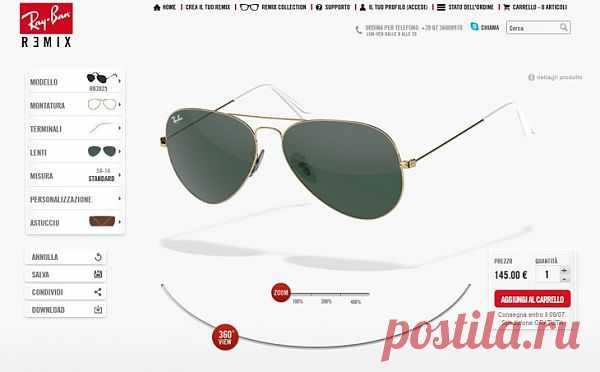 Ray Ban своего дизайна / Декор очков / Модный сайт о стильной переделке одежды и интерьера