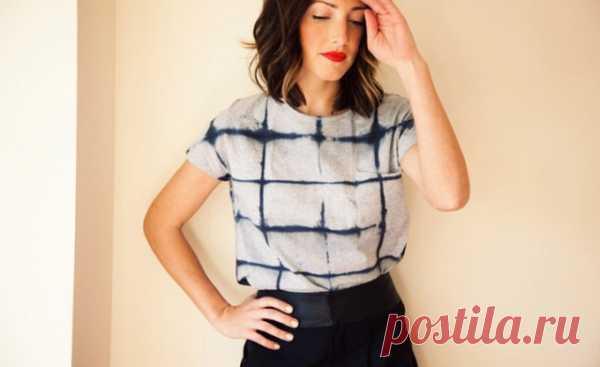 Переделка футболки / Футболки DIY / Модный сайт о стильной переделке одежды и интерьера