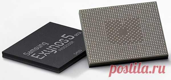 Новый восьмиядерный процессор Samsung на 20% быстрее предшественника