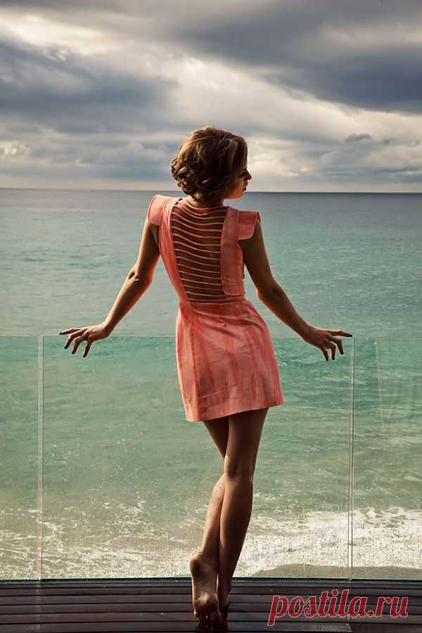 Геометрическая спинка / Декор спины / Модный сайт о стильной переделке одежды и интерьера