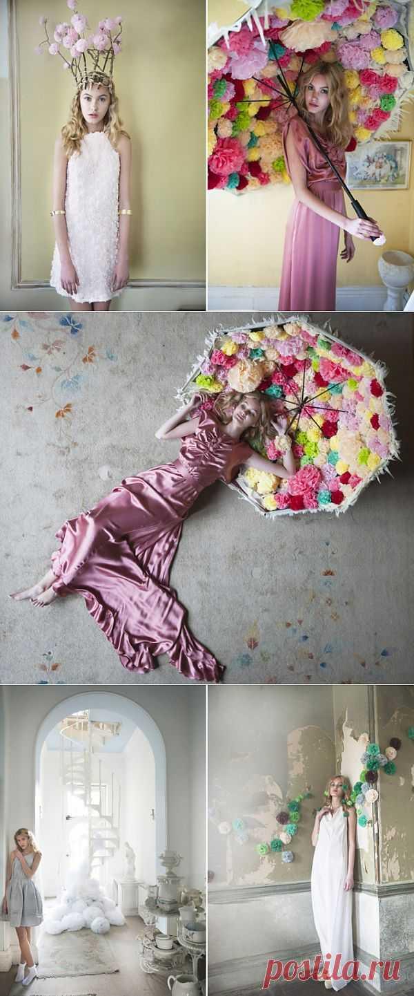 Помпон как стилеобразующая идея / Фото (идеи съемок) / Модный сайт о стильной переделке одежды и интерьера