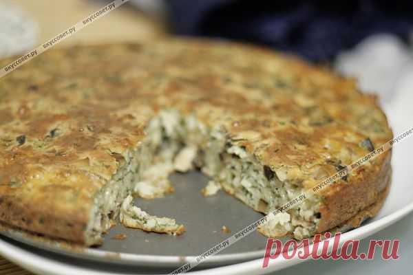 Сырный пирог пошаговый рецепт с фото. Автор: Анна Алексеевна Безикова