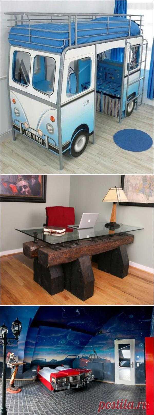 30 творческих идей для создания креативной мебели