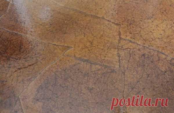 Шикарный пол за копейки | Пикабу