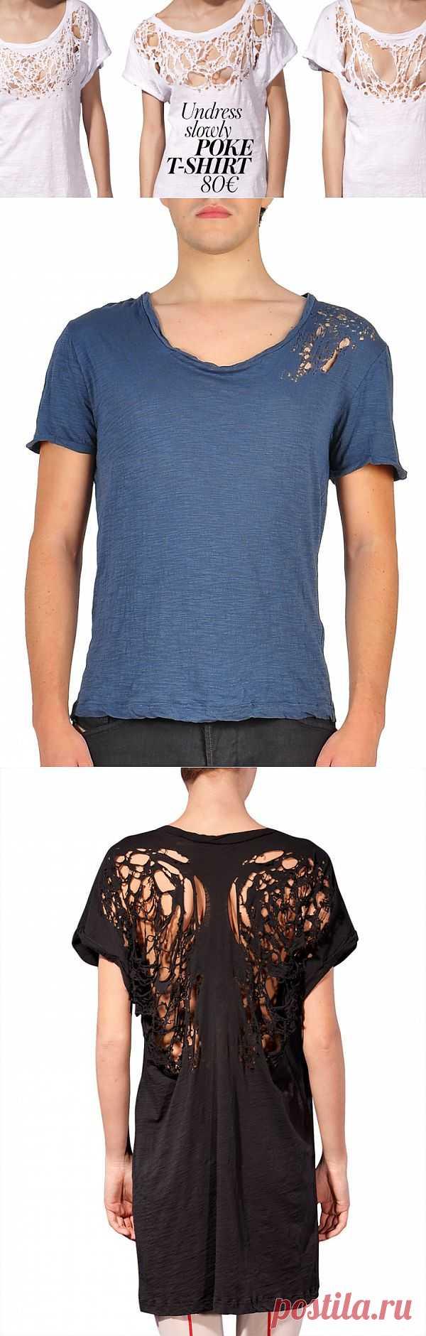 Poke t-shirt MurMur / Креатив / Модный сайт о стильной переделке одежды и интерьера