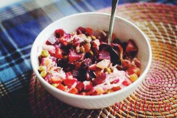 Заправка для винегрета с томатной пастой и горчицей, рецепт с фото | Вкусные кулинарные рецепты