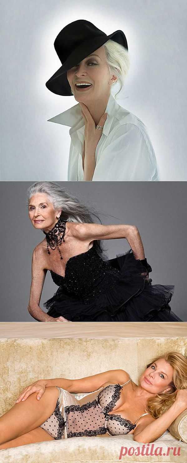 6 самых известных моделей в возрасте | Новости | Журнал | Starlook.Ru - Красивые люди. Красивые вещи