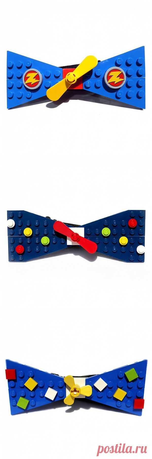 Lego: галстуки-бабочки / Креатив / Модный сайт о стильной переделке одежды и интерьера