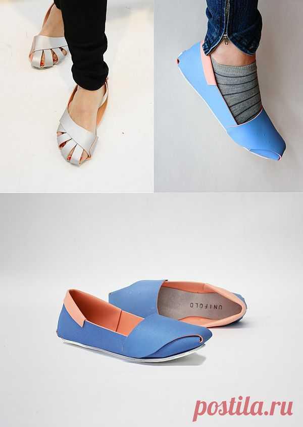 Обувь оригами (трафик) / Простые выкройки / Модный сайт о стильной переделке одежды и интерьера