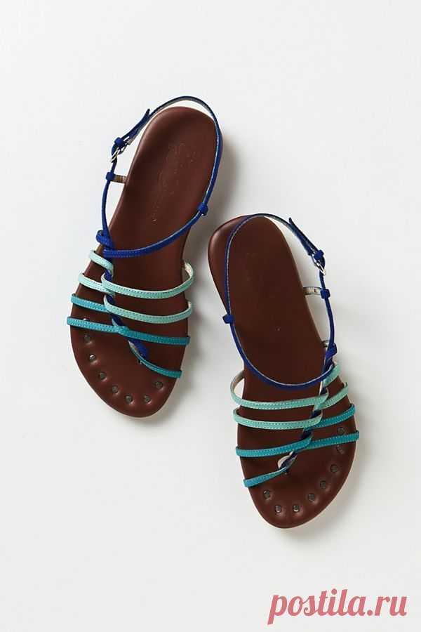 Переплетенные босоножки / Модная обувь / Модный сайт о стильной переделке одежды и интерьера