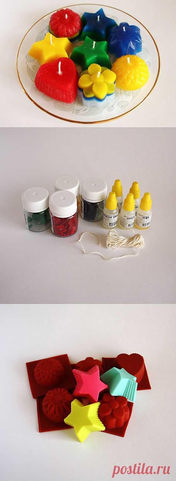 (+1) - Яркое хобби: делаем парафиновые свечи | Хвастуны и хвастушки