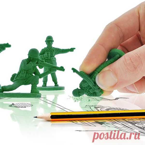 Солдатики-ластики. Мужчинам понравится!)) - $10 USD