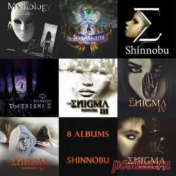 Shinnobu - 8 альбомов (2017-2020) Mp3 Исполнитель: ShinnobuНазвание: Shinnobu - 8 альбомов (2017-2020)Год выпуска: 2017-2020Страна: Costa RicaЖанр: New Age, Enigmatic, Chillout, MysticКоличество композиций: 79Формат   Качество: MP3   320 kbps + ImageПродолжительность: 04:45:16Размер: 1.1 Gb (+3%) TrackList:Shinnobu - The Enigma