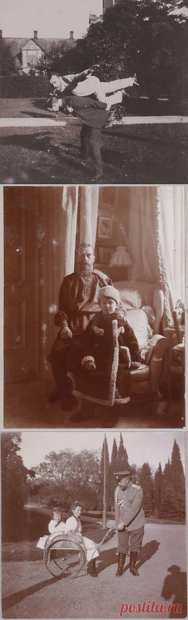 Редкие фотографии царской семьи Романовых