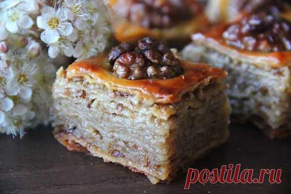 Пахлава — рецепт с пошаговыми фото. Foodclub.ru