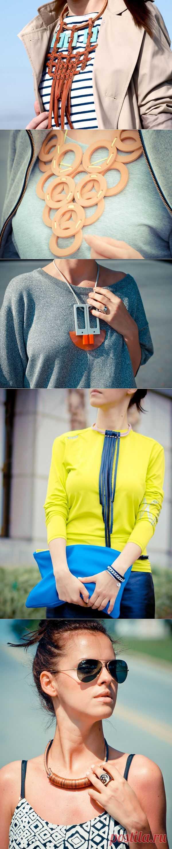 Колье Вероники (трафик) (мастер-класс) / Украшения и бижутерия / Модный сайт о стильной переделке одежды и интерьера