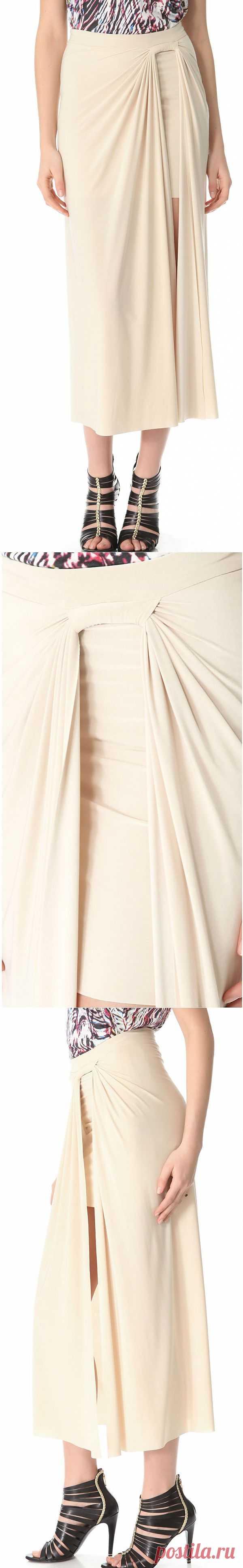 Двойная юбка с петлей / Детали / Модный сайт о стильной переделке одежды и интерьера