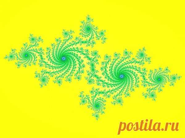 Green Fractal  Free Stock Photo HD - Public Domain Pictures