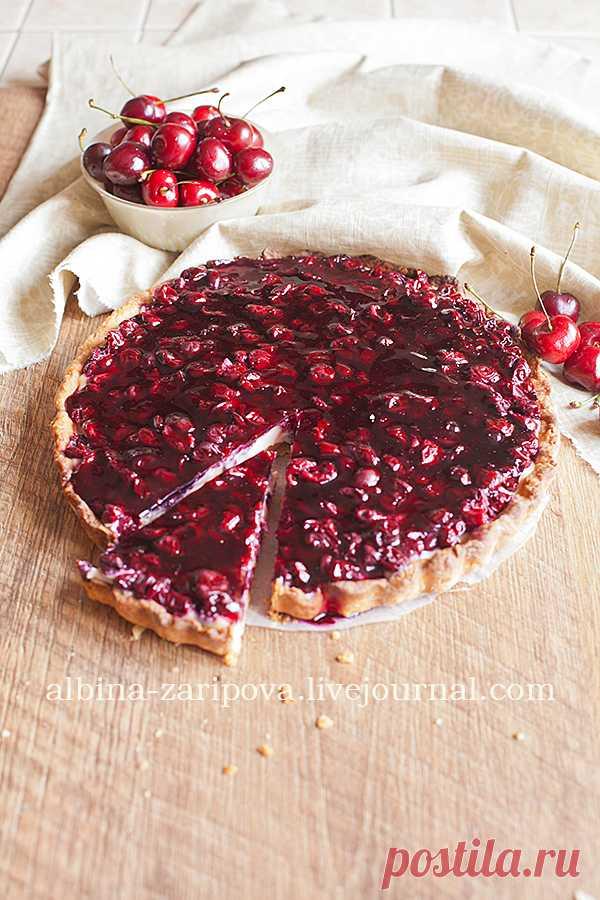 Вишневый тарт с заварным кремом - Table talks — LiveJournal