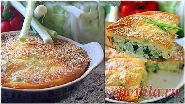 Капустный пирог » Кулинарные рецепты