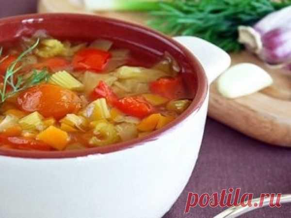 Овощной суп для похудения с сельдереем — vkusno.co