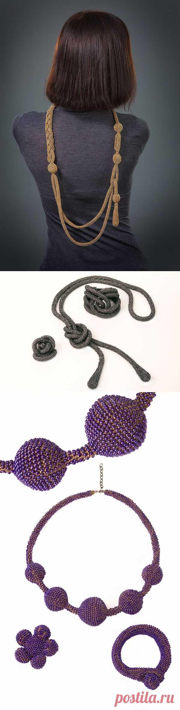 Эти украшения связаны крючком (подборка) / Украшения и бижутерия / Модный сайт о стильной переделке одежды и интерьера