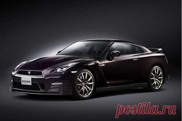 Специальная ограниченная версия Nissan GT-R - новый цвет  Midnight Opal