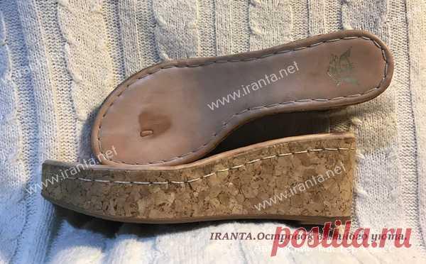 Летняя вязаная обувь крючком. Босоножки. Мастер-класс